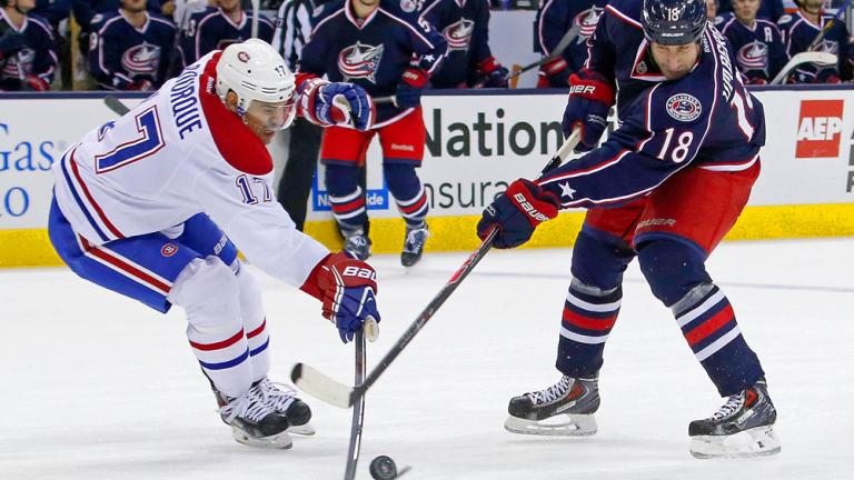 Canadiens 3, Blue Jackets 2