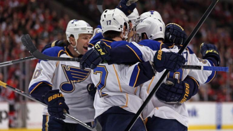 (2) St. Louis Blues: Central Division