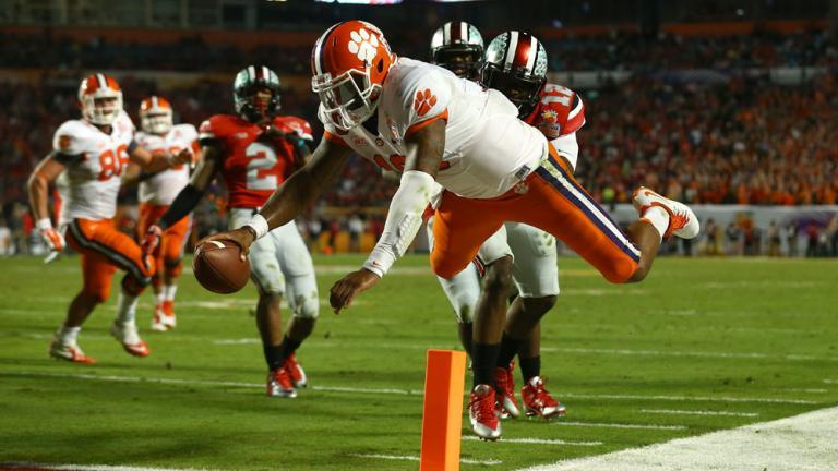 Orange Bowl: (12) Clemson 40, (7) Ohio State 35
