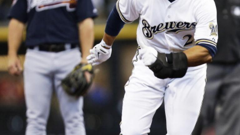 Brewers 2, Braves 0