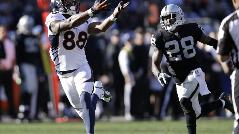 Broncos 34, Raiders 14