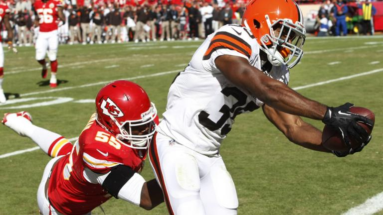 Chiefs 23, Browns 17