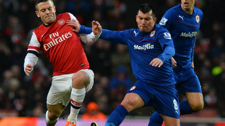 Arsenal 2, Cardiff City 0