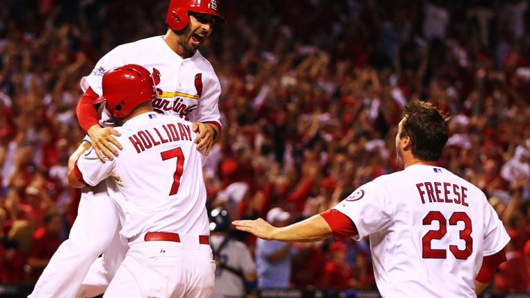 NLCS Game 1: Cardinals 3, Dodgers 2