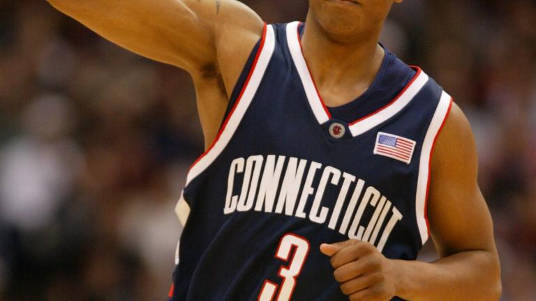 Caron Butler, Connecticut Huskies, 2000-02