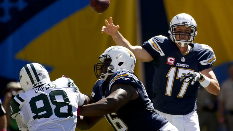 Chargers 31, Jets 0