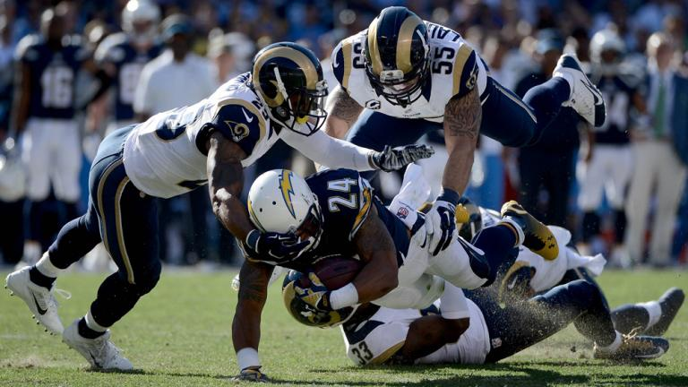 Chargers 27, Rams 24