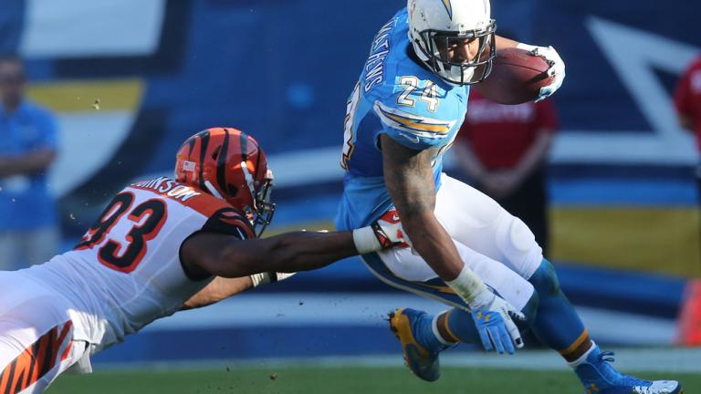 Bengals 17, Chargers 10