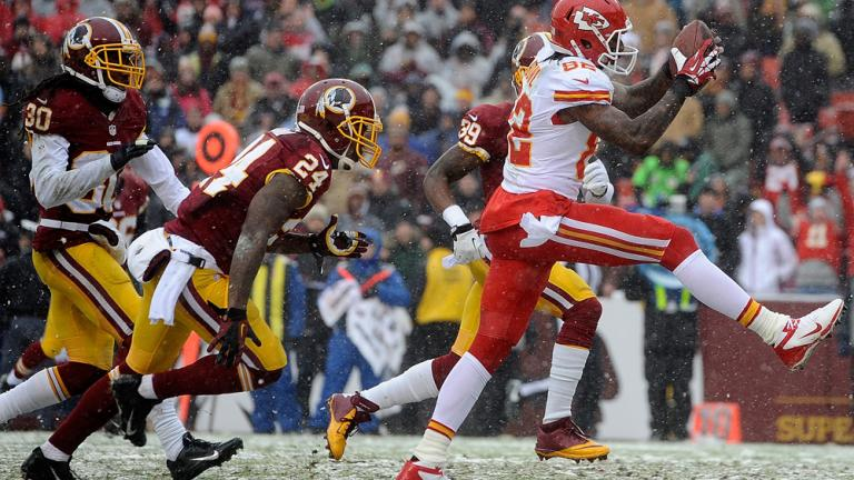 Chiefs 45, Redskins 10