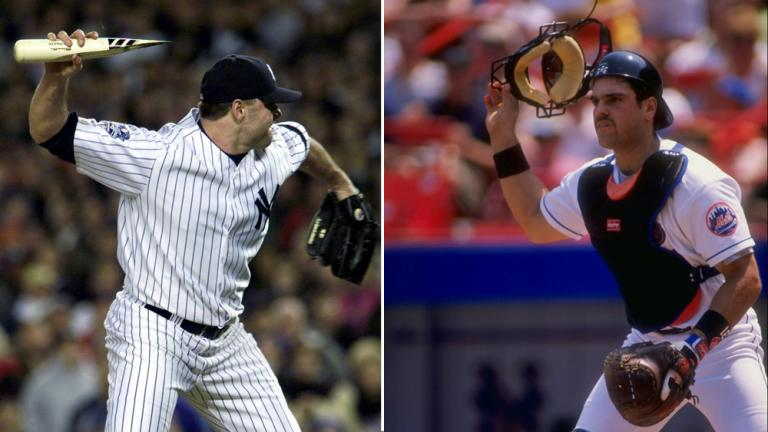 Roger Clemens vs. Mike Piazza