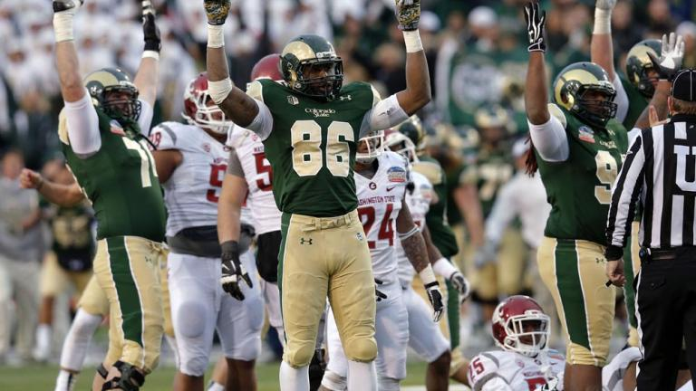 New Mexico Bowl: Colorado State 48, Washington State 45