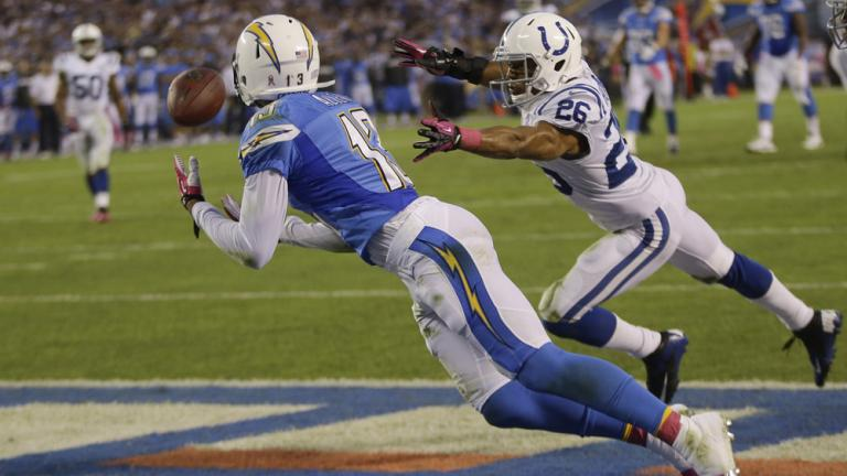 Chargers 19, Colts 9