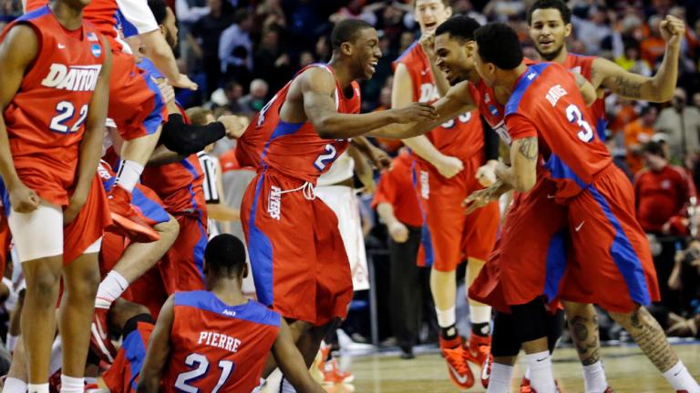 Second Round: (11) Dayton 60, (6) Ohio State 59