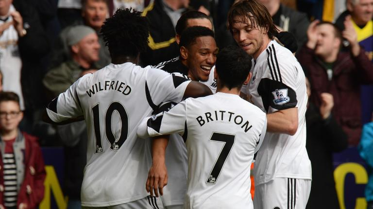 Swansea City 3, Norwich City 0