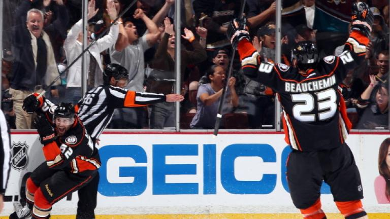 (1) Anaheim Ducks: Pacific Division