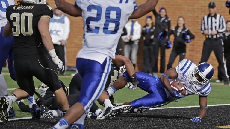 (25) Duke 28, Wake Forest 21