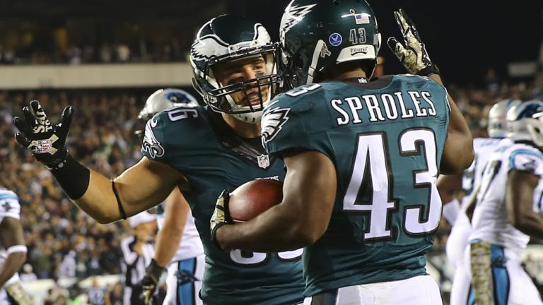 Eagles 45, Panthers 21