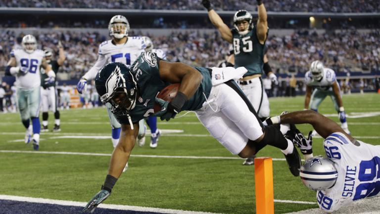 Eagles 24, Cowboys 22