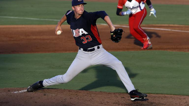 Erick Fedde, UNLV (potential top-10 draft pick)