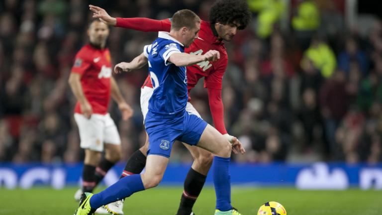 Everton 1, Manchester United 0