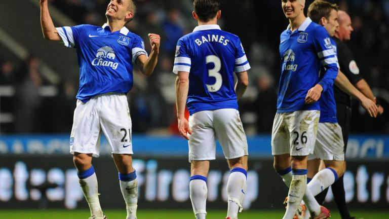 Everton 3, Newcastle 0
