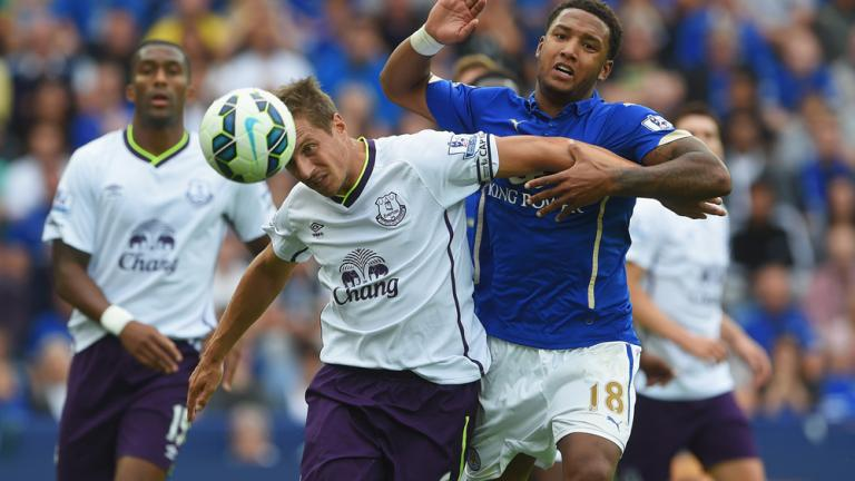 Leicester City 2, Everton 2