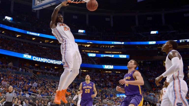 Second Round: (1) Florida 67, (16) Albany 55