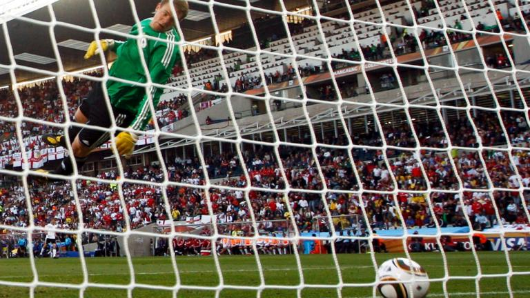 2010 World Cup: No-goal for England