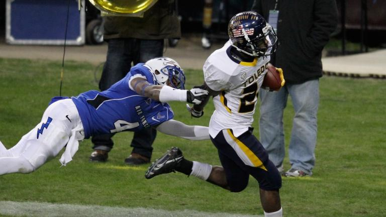 Military: Toledo 42, Air Force 41