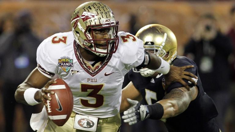 Champs Sports: No. 25 Florida State 18, Notre Dame 14