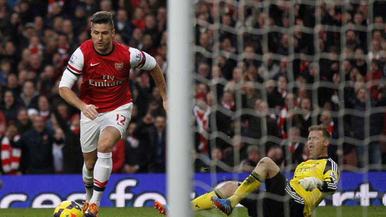 Arsenal 2, Southampton 0