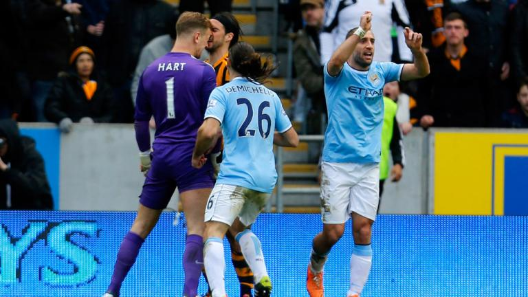 Manchester City 2, Hull City 0