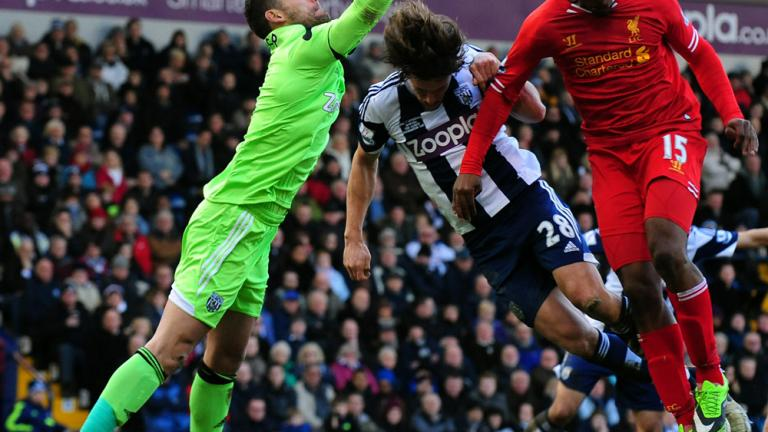 West Brom 1, Liverpool 1