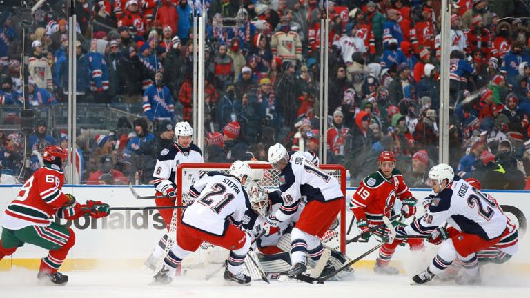 New York Rangers 7, New Jersey Devils 3