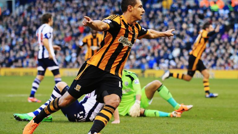 West Bromwich 1, Hull City 1