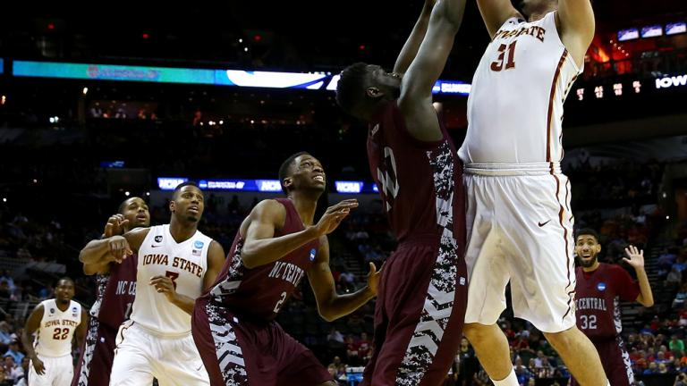 Second Round (3) Iowa State 93, (14) North Carolina Central 75