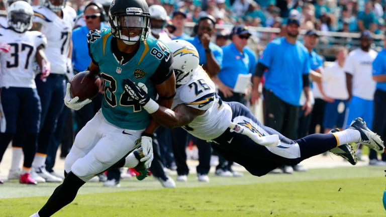 Chargers 24, Jaguars 6