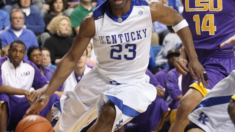 Jodie Meeks, Kentucky Wildcats, 2006-09