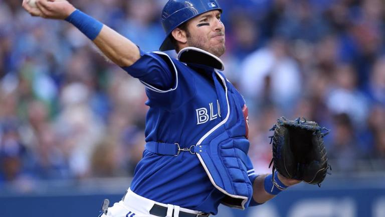 J. P. Arencibia, Rangers