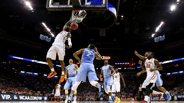 Third Round: (3) Iowa State 85, (6) University of North Carolina 83