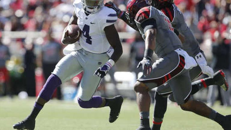 Kansas St. 49, (25) Texas Tech 26