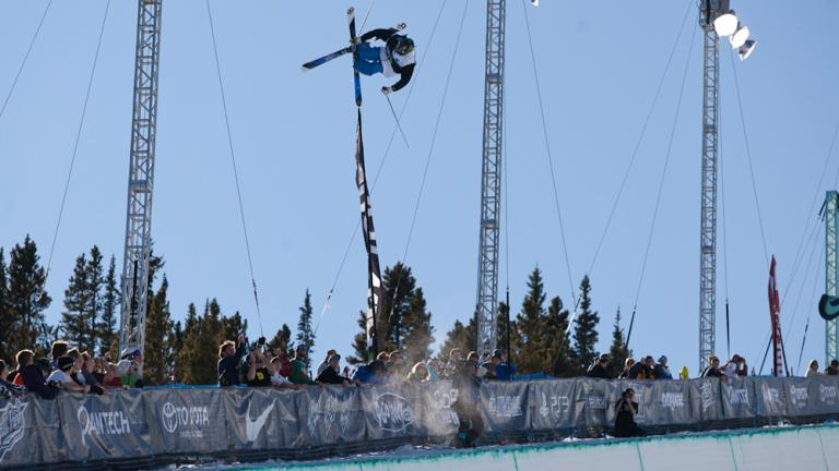Kevin Rolland, 1st, Freeski Pipe Finals