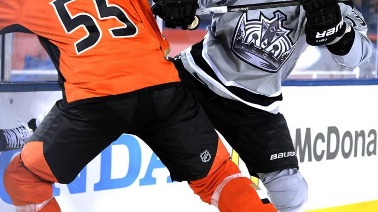 Anaheim Ducks 3, Los Angeles Kings 0