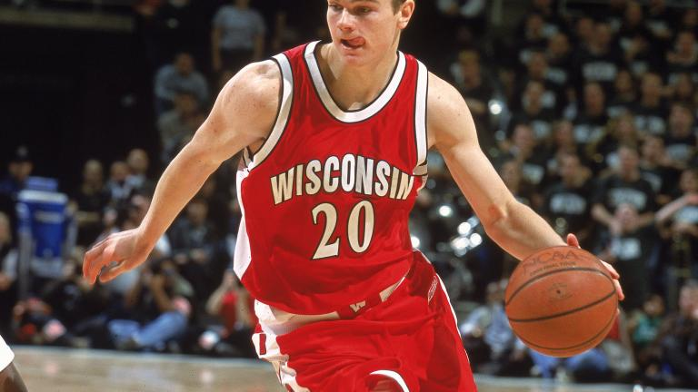 Kirk Penney, Wisconsin Badgers, 1999-2003