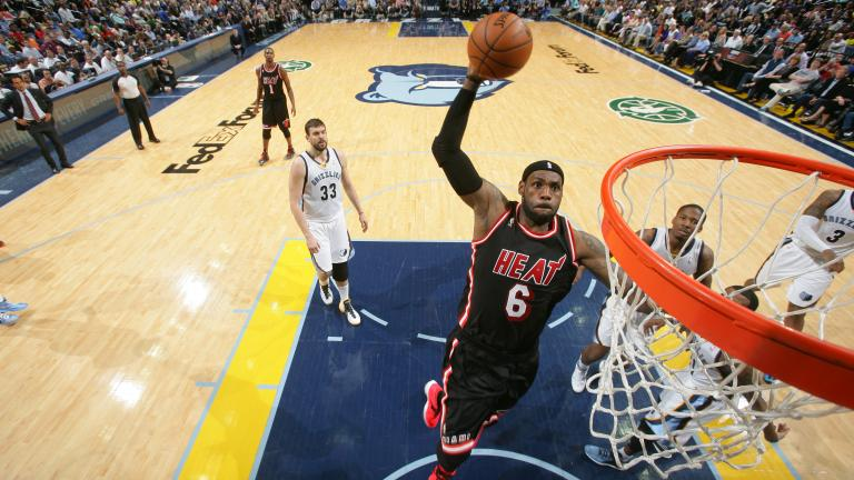 LeBron James, Forward, Miami Heat