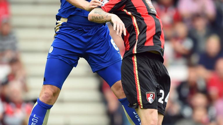 Bournemouth 1, Leicester 1