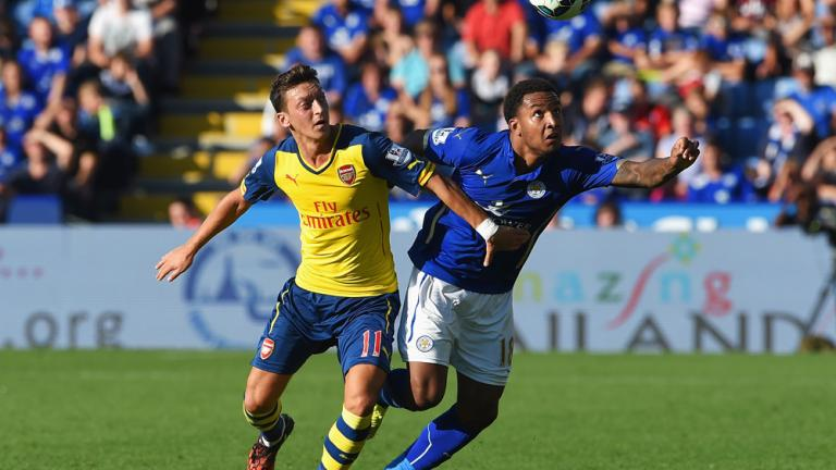 Arsenal 1, Leicester City 1
