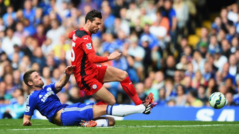 Chelsea 2, Leicester 0