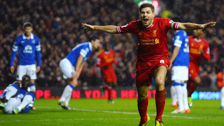 Liverpool 4, Everton 0