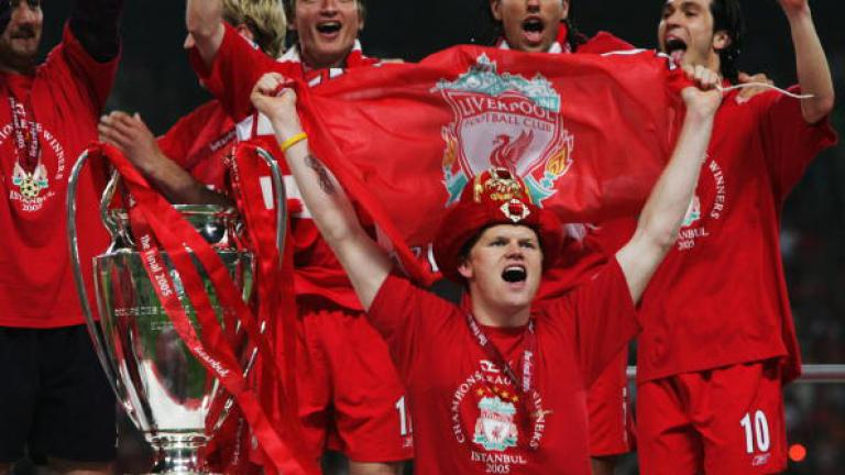 Liverpool down, but not out